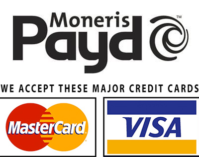 We are Now Accepting Credit Card Payments!